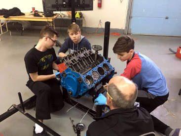 741-cadets-engine-repair